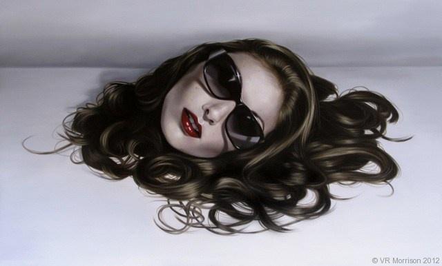 Coquette Rouge - VR Morrison Contemporary Artist