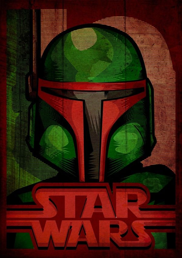 Star Wars: The Bad Guys by Febrian Anugrah, lowbrow art, pop surrealism
