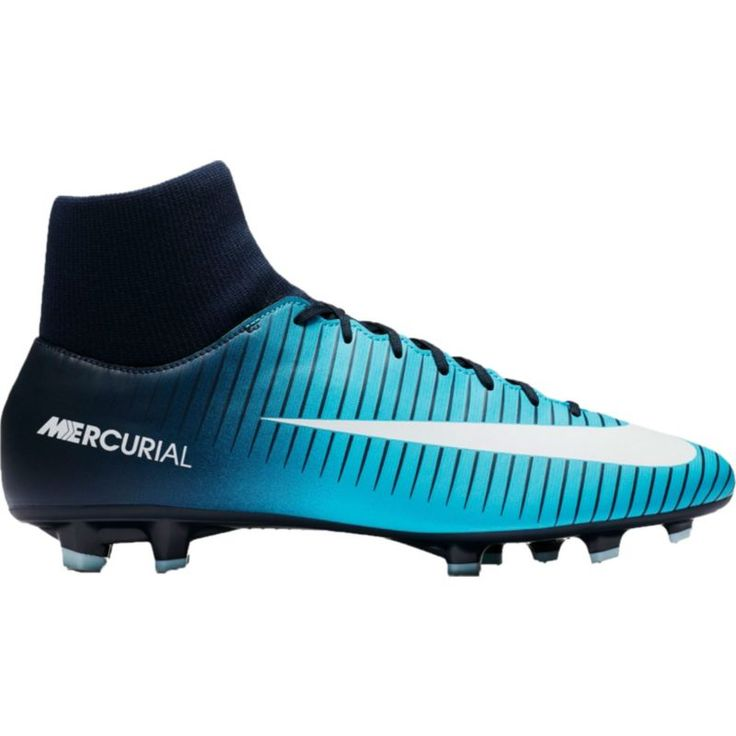 Nike Men's Mercurial Victory VI Dynamic Fit FG Soccer Cleats, Size: 10.5, Blue