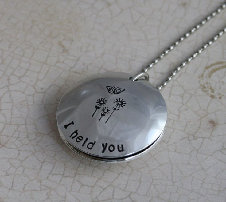 The 37 best loved one memorial sympathy gifts images on pinterest custom miscarriage memorial jewelry aluminum i held you in memory of miscarriage baby memorial jewelry miscarriage remembrance aloadofball Images