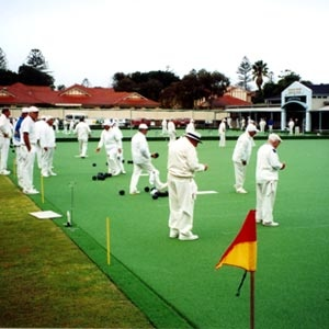 Lawn Bowls - it goes good