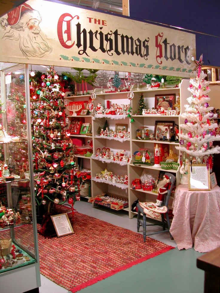 Christmas Store Pictures In Antique Mall (click On The Word Christmas And  You Will Be