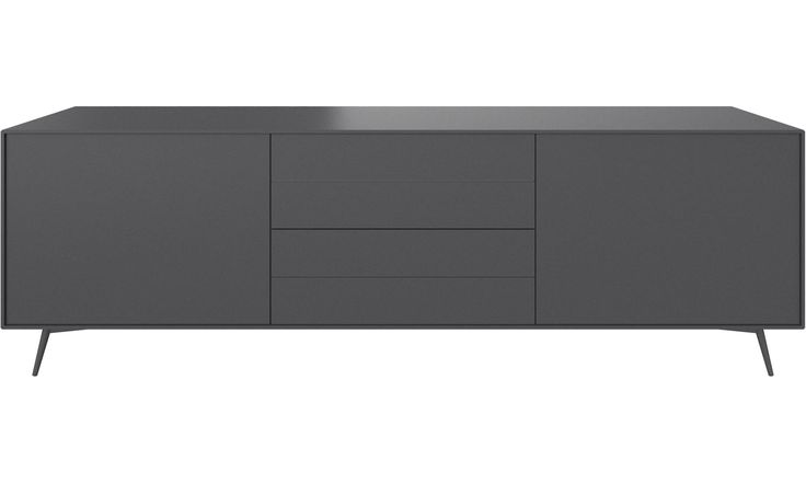 Sideboards - Fermo Sideboard - Grau - Lack
