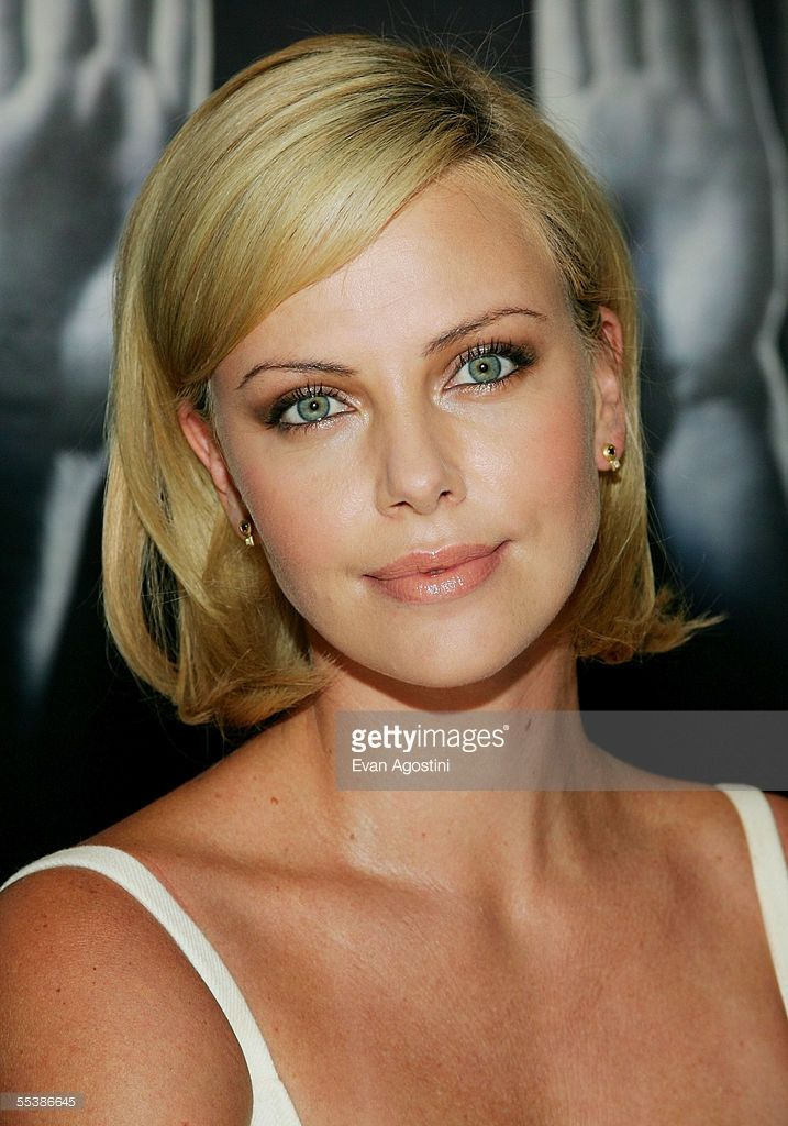 Actress Charlize Theron participates in a press conference for the film 'North Country' during the 2005 Toronto International Film Festival September 12, 2005 in Toronto, Ontario.