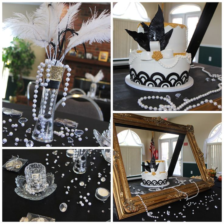Great gatsby party roaring 20s party the entertainer in for 1920 party decoration ideas
