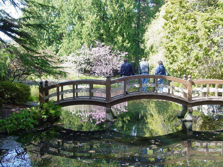 The Japanese Garden at Royal Roads University