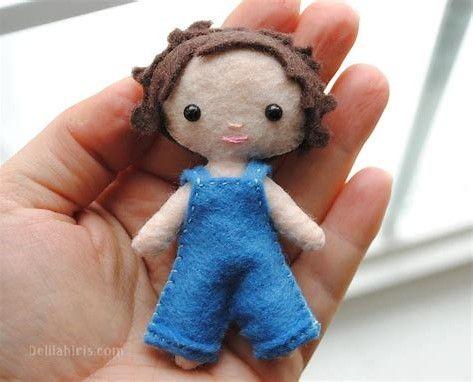 Image result for felt doll patterns free