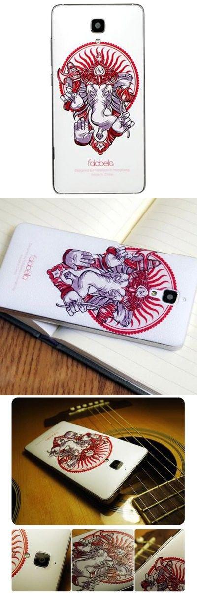 Falabela Ganesha Pattern 3D Coloured Sculpture Protective Case for Xiaomi 4 -$10.93