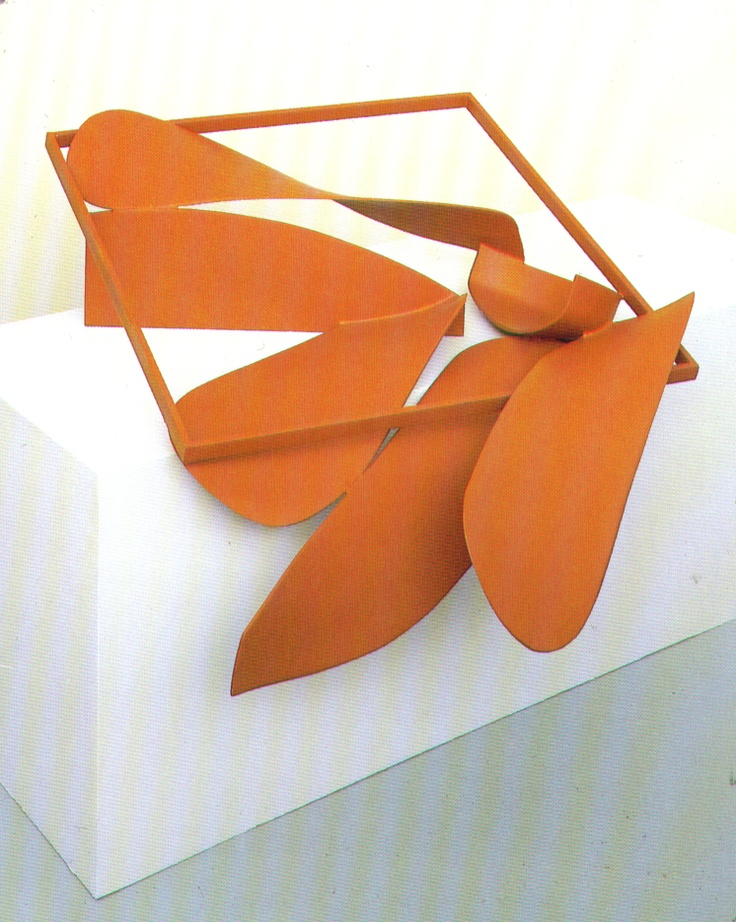 Sir Anthony Alfred Caro, OM, CBE is an English abstract sculptor whose work is characterised by assemblages of metal using 'found' industrial objects.