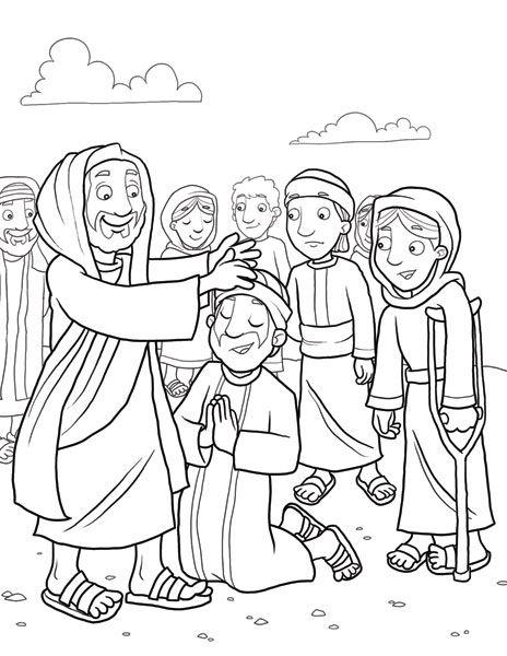 jesus heals a leper   Jesus_ heals_ the_ sick_10