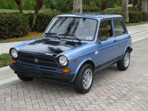 Autobianchi 112 Abarth. Had one! One of the most exciting cars to drive.