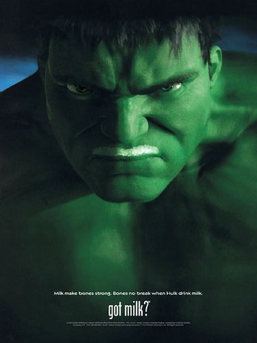 https://flic.kr/p/agfttS | Got Milk? - Hulk (2003) | See 7 Got Milk? ads featuring movie versions of comic book super heroes