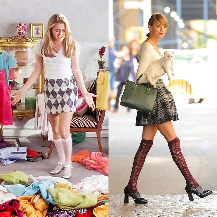 12 Outfits That Prove Cher From Clueless Is Taylor Swift's Style Icon: Clueless hit theaters 20 years ago this month, but that doesn't mean the fashion we saw in the film is completely outdated.