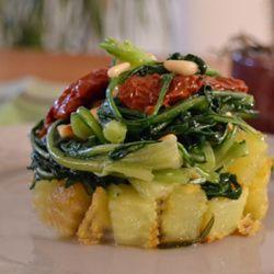 Torretta di verdure  #italianfood  #recipes #pasta #veggie #vegetables