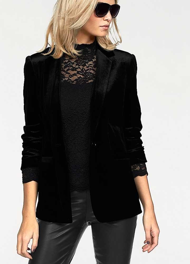 df2efdb07819 Velvet Blazer by Laura Scott in 2019   Clothes   Velvet blazer ...