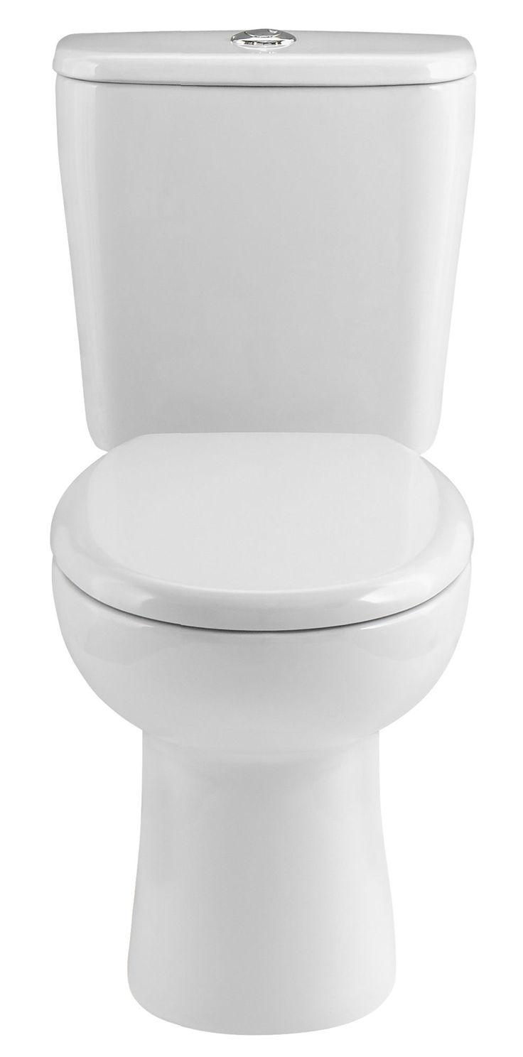 B q bathroom scales - Cooke Lewis Perdita Close Coupled Toilet With Soft Close Seat