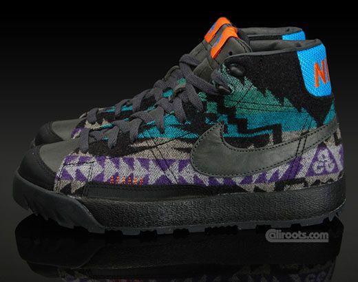 Nike ACG Blazer Mid x Pendelton - Something Different