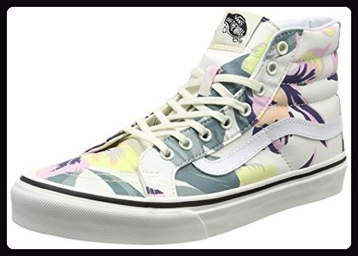 Vans Damen Sk8-Hi Slim Laufschuhe, Mehrfarbig (Vintage Floral), 41 EU - Sneakers für frauen (*Partner-Link)