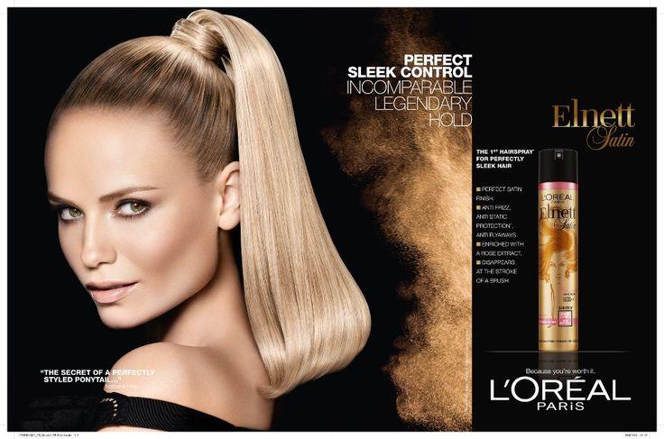L'Oréal | Top model Natasha Poly is fronting L'Oreal Paris campaign once again ...