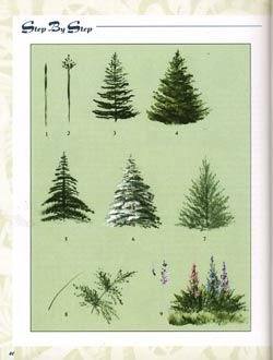 Tree painting guide