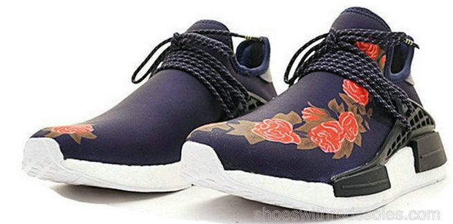 4d753b8d6d17 Adidas Human Race Pharrell Williams NMD X GUCCI BB0624 Nero Flower ...