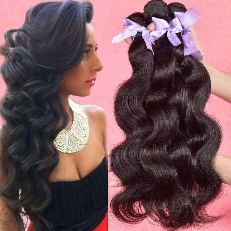 Дешево Бразильские Волосы 4 Пучки Бразильские Объемная Волна Wonder Girl волосы Бразильского Виргинские Волос Объемной Волны 100% Человеческих Волос Нет Sheding