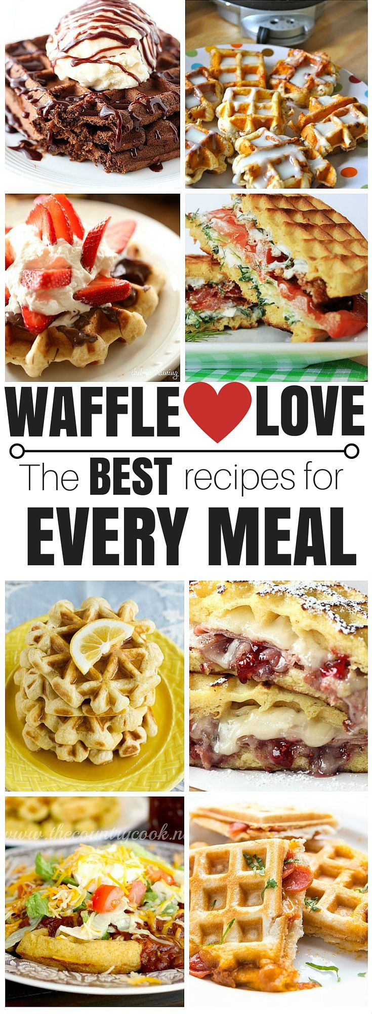 I suddenly have a new love for waffles...at EVERY meal!