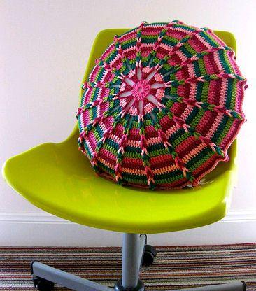 Meu Mundo Craft: PAP da almofada colorida
