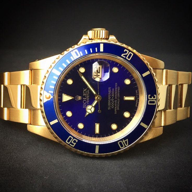 Rolex Submariner Gold Ref. 16618