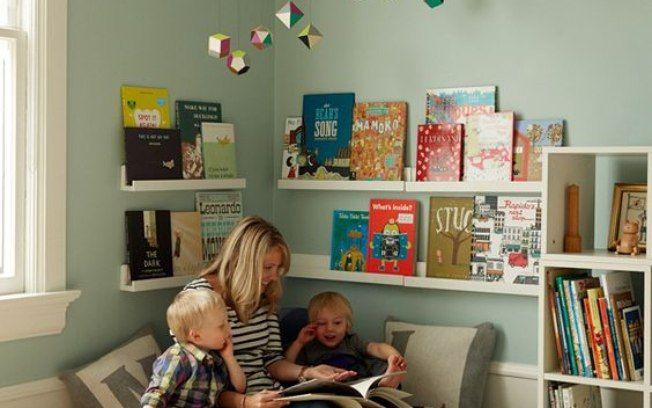 Criar uma biblioteca em casa pode estimular o hábito de leitura