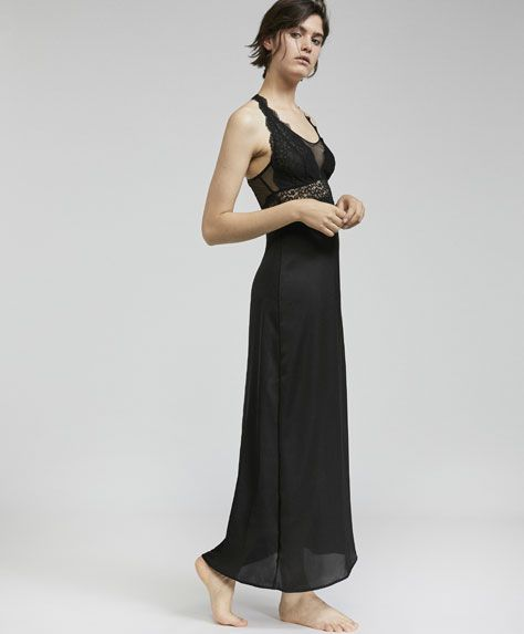 Long nightdress -  | Oysho Egypt
