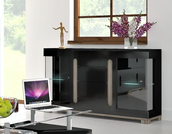 Check this new product Argo Black Gloss ... View the details here http://discountsland.co.uk/products/argo-black-gloss-sideboard-with-glass-door?utm_campaign=social_autopilot&utm_source=pin&utm_medium=pin #furnituresale #homedecor