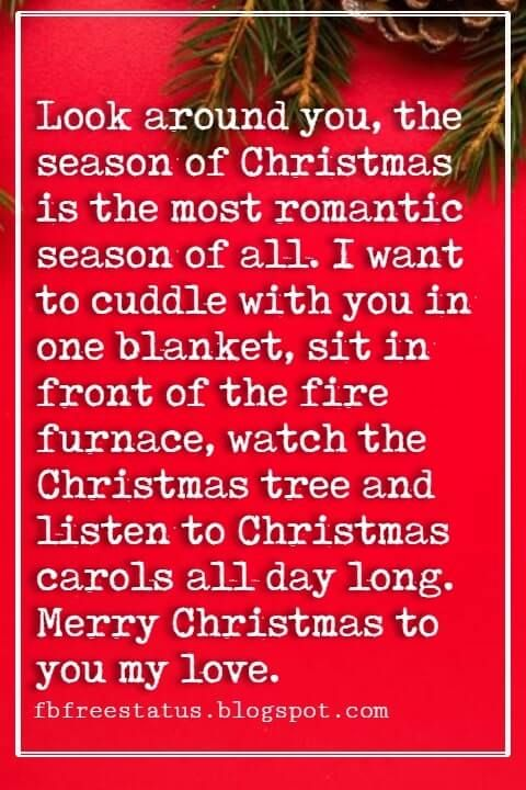 Merry Christmas Love Quotes Messages With Images Christmas