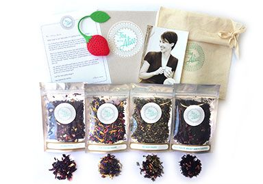 Fancy a box of beautiful teas being delivered to your door every month for the next three months? With a cute infuser and calico bag to store them in? Well, you could win it at my NEW site, The Mama Files. Mosey on over to enter before May 6 (just in time for Mother's Day, if you were wondering what to get mum!)