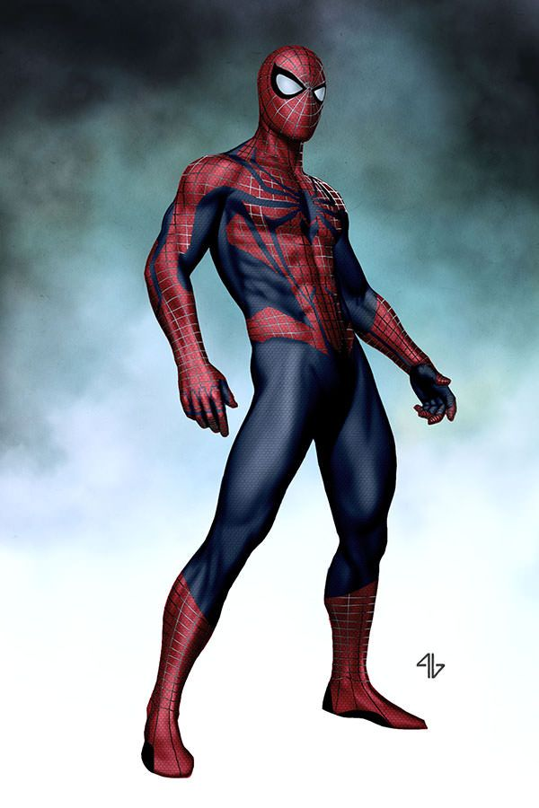 Spider-Man illustrated & redesigned by Adi Granov