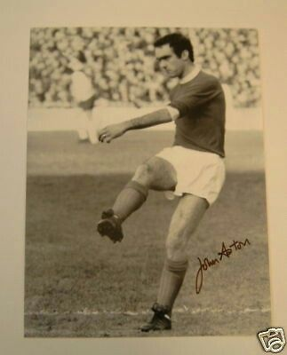 """Name: John Aston Jnr Position: Forward Birthdate: 28-06-1947 Birthplace: Clayton, Manchester, England Height: 5' 9"""" Weight: 10st 12lbs Nationality: England   Signing Information: Signed Trainee: 12/06/1963. Signed Professional: 02/07/1964 Years at Club: 1964-1972 Debut: 12/04/1965 v Leicester City 1-1 (H) (League Division One) Previous clubs:  Farwell to Manchester United: Transferred to Luton Town, 12/07/1972, £30,000."""