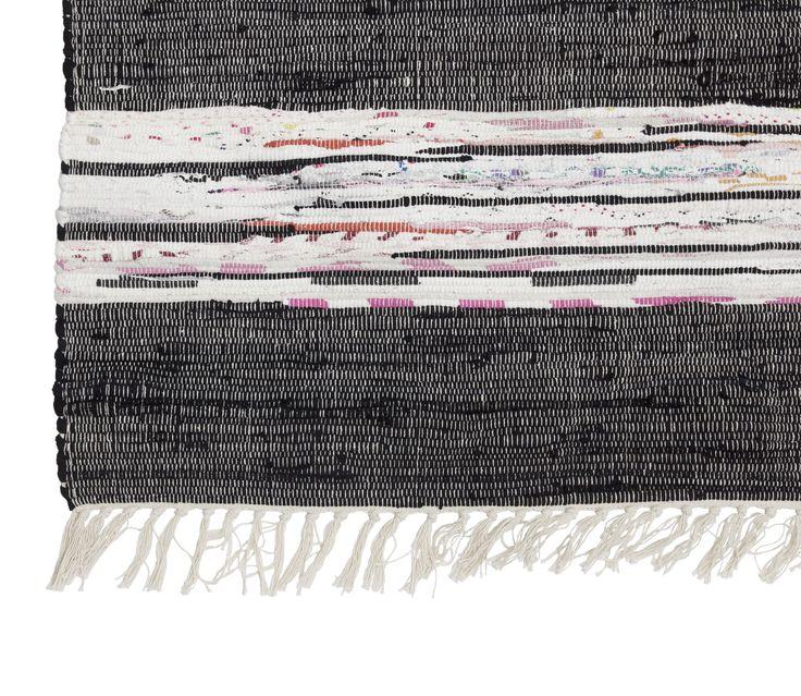 Gammaldags trasmatta i svart  http://www.ambinesshome.se/product.html/trasmatta-hilda-svart?category_id=43