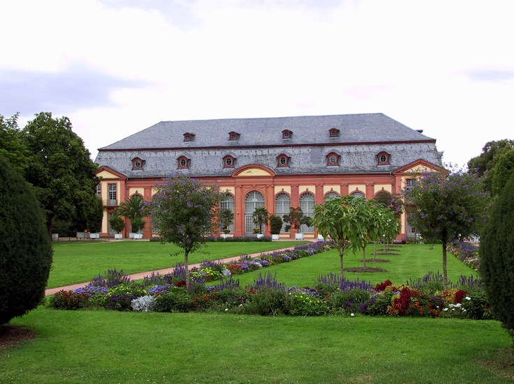 Orangerie in Darmstadt-Bessungen (Germany)