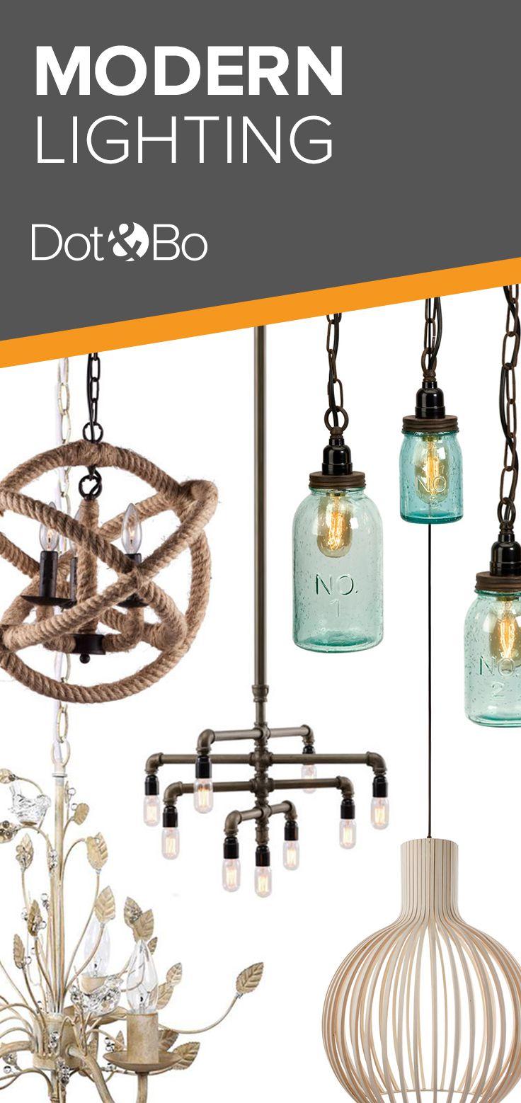 Modern Lighting | Shop Now at dotandbo.com