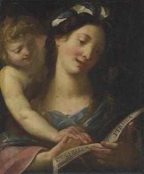 Giulio Cesare Procaccini (Bologna 1574-1625 Milan) The Persian Sibyl