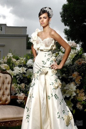 34 best Mexican Designers: Wedding Dress images on Pinterest ...