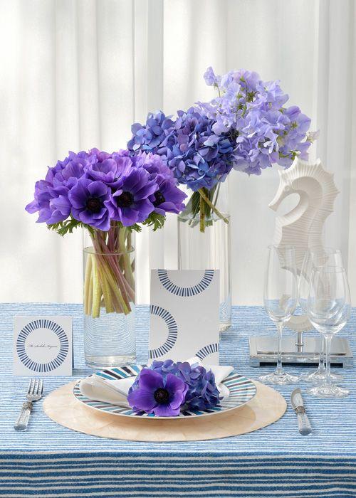 #NOVARESE #wedding #table #flower #purple #blue #ノバレーゼ #ウエディング #テーブル #フラワー #パープル #ブルー