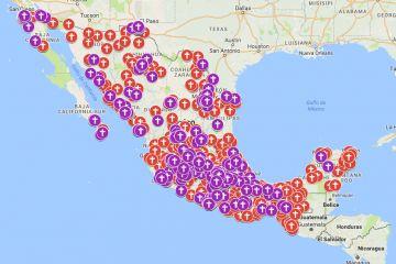 Con un mapa interactivo creado en Google Maps, María Salguero, (@Princesabathory)expone la cantidad de feminicidios ocurridos en México. Fue creado con las publicaciones de casos reportados…