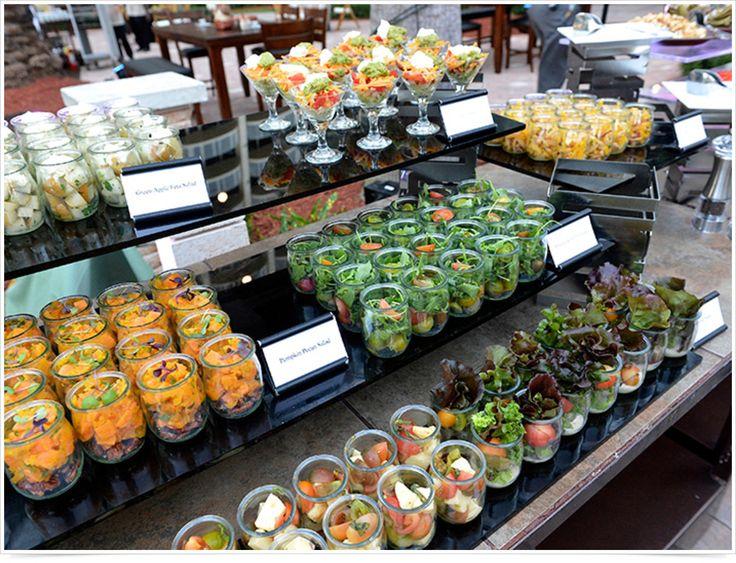 Jarred Salad Display