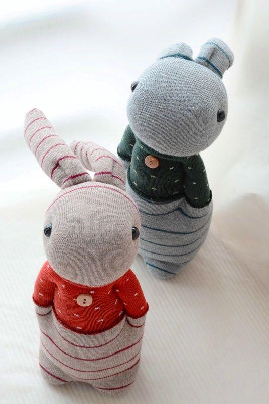 Grace--#205+#206 Sock Domy Rabbit