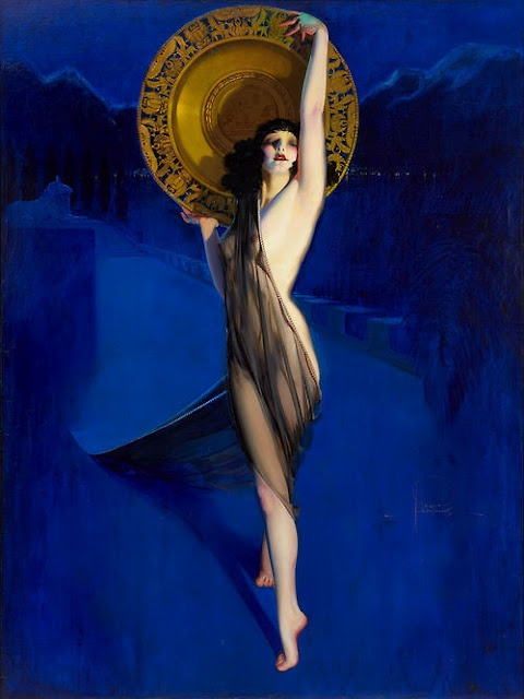 By Rolf Armstrong (1889-1960). @designerwallace