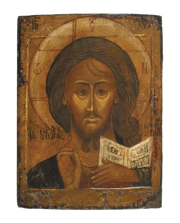 Christus met het Grimmige Oog - Ikonenmuseum Kampen