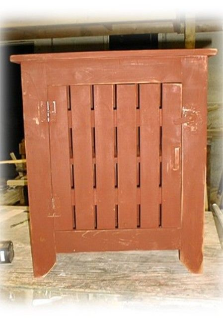 "Primitive Liquor Cabinet but don't let the name mislead you.  This is an ideal phone stand or hall cabinet.  You are welcome to choose a stain from below for the counter top of this liquor cabinet.   31.5""H 26.5""W 12.75""D"