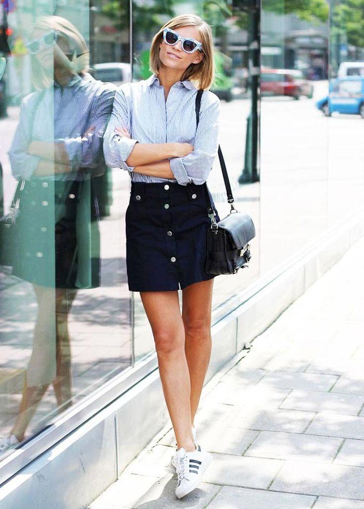 25 Formas De Usar Una Camisa Rayada | Cut & Paste – Blog de Moda