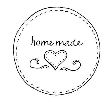 Mason jar cover--or nice addition to handmade items--from Down to Earth